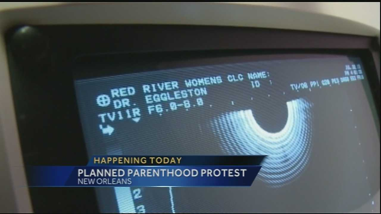 Two Planned Parenthood protest are happening in Southeast Louisiana on Thursday as local pro-life advocates join the national push for Congress to de-fund the organization.