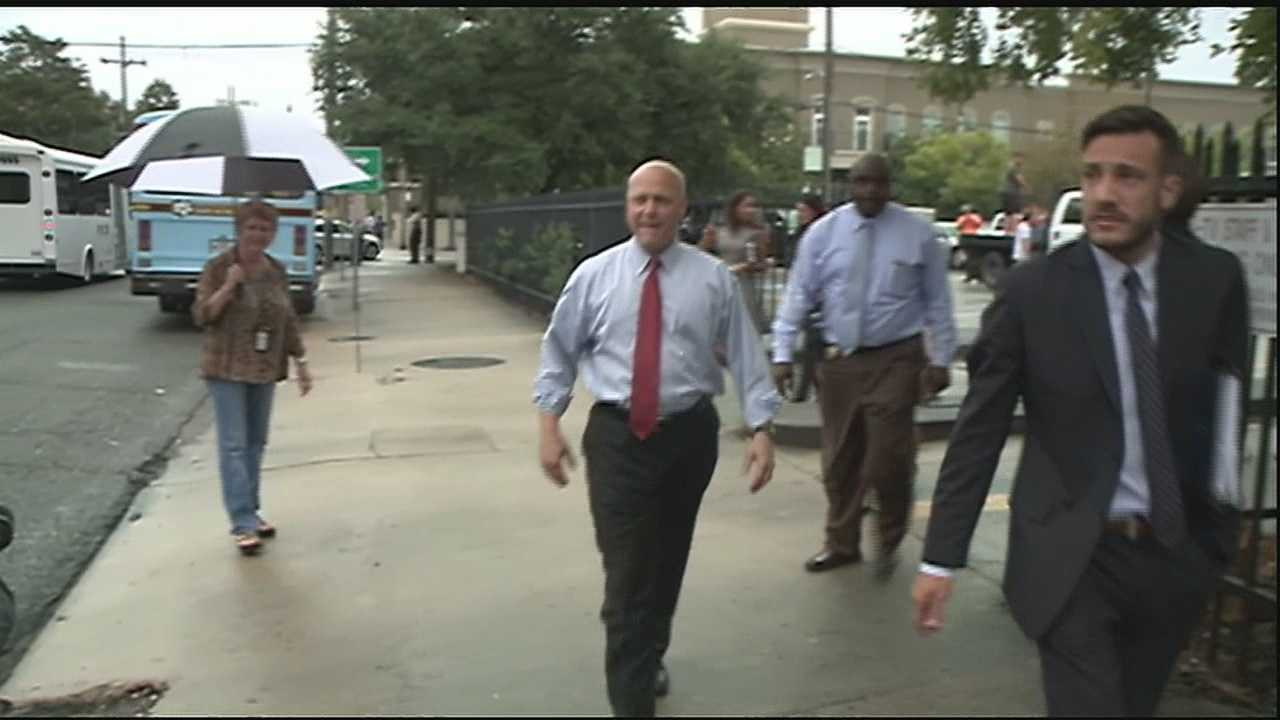 Mayor Mitch Landrieu learned he will not have to begin his weekend house arrest after the state Supreme Court stayed the ruling a judge made last week.