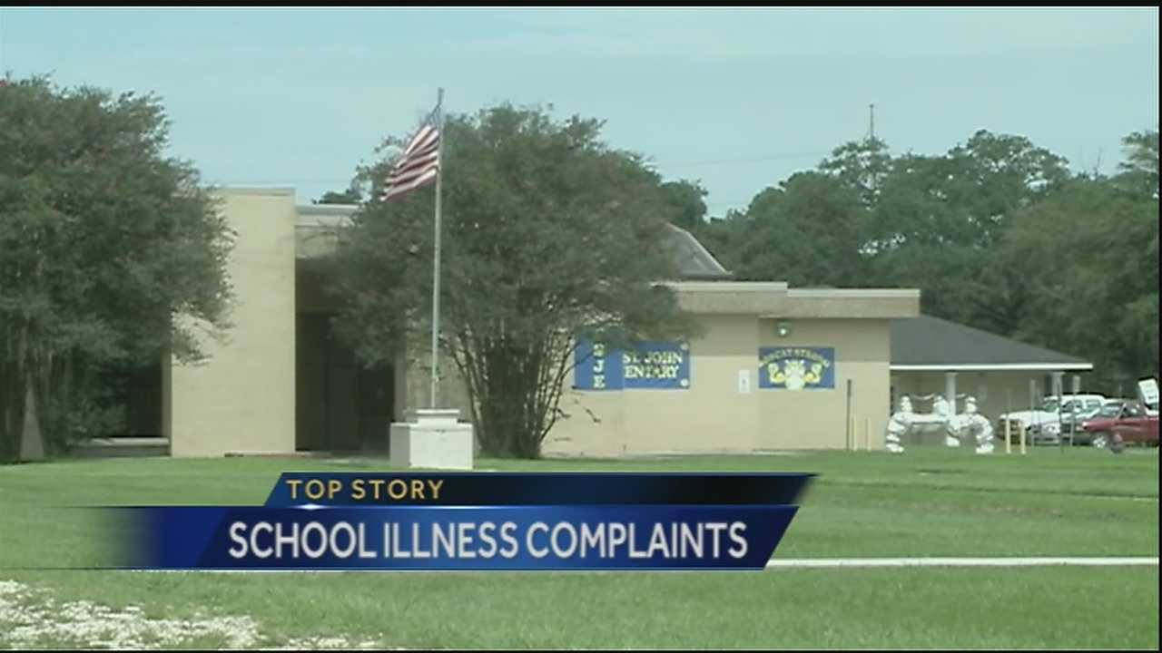 One parent is speaking out after her child became sick while attending school at a temporary building in St. John the Baptist Parish.