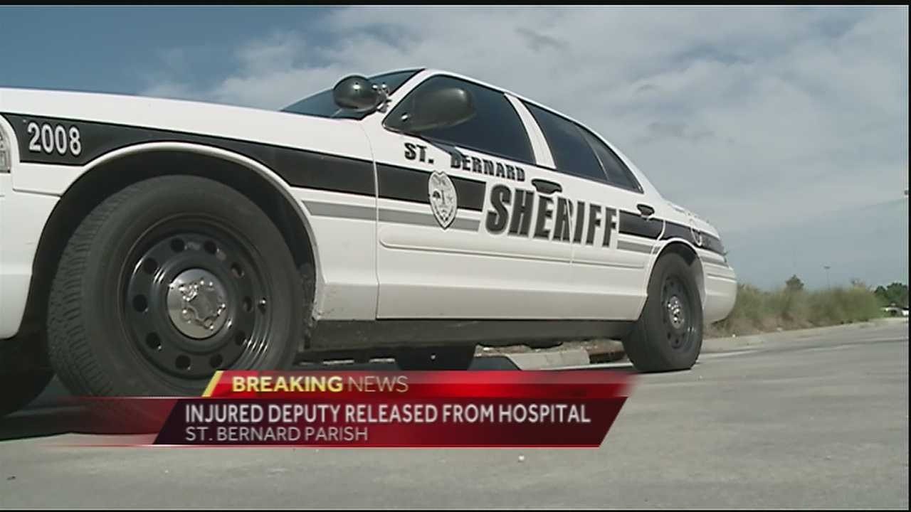 A St. Bernard Parish deputy is recovering after he was stabbing during an altercation with a man Tuesday afternoon in Chalmette.