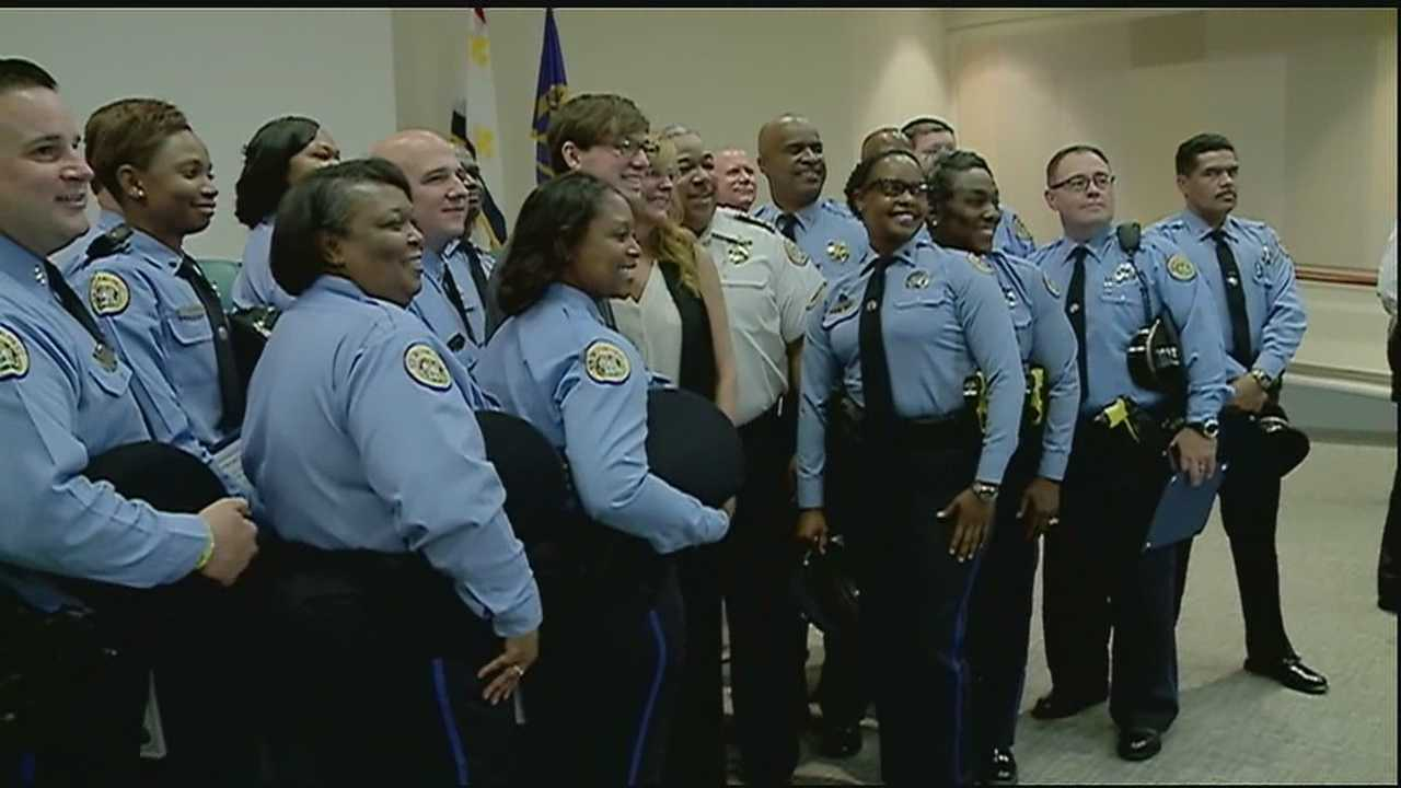 The New Orleans Police Department graduated its first class of the new Crisis Intervention Team.