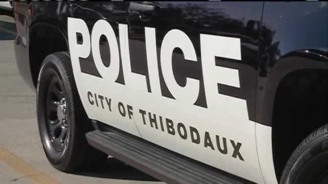 Thibodaux police vehicle