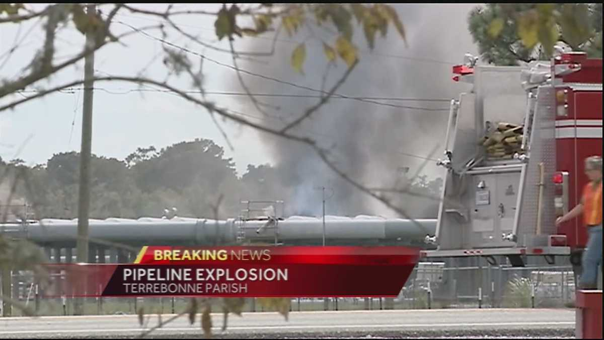 Natural Gas Pipeline Explosion New Orleans