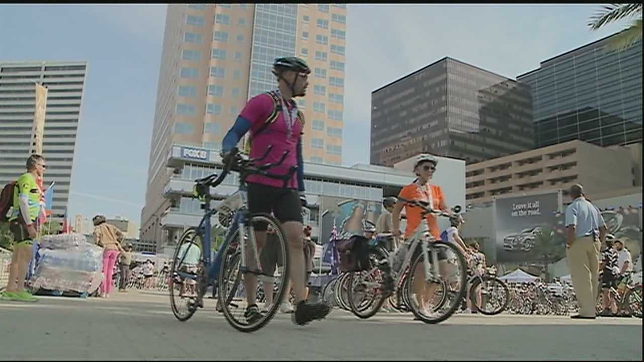 With New Orleans known as one of the country's top five cities for bike commuters, it was only fitting that over 100 cyclists gathered Saturday morning in the CBD for a first-of-its-kind event in the Crescent City.