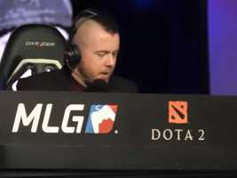 The MLG World Finals are broadcast online and announcers provide play-by-play commentary.