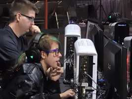 Vendors at the MLG World Finals provide a new gaming experience with headphones, chairs, custom controllers and more.