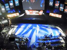 Teams prepare for Dota 2 at MLG World Finals in New Orleans.