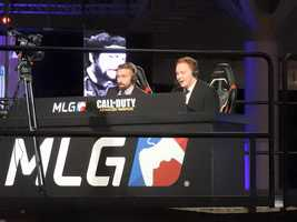 Professional sportscasters provide play-by-play for Call of Duty at MLG World Finals.