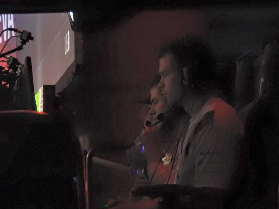 Team Optic Gaming playing Call of Duty at the MLG World Finals.
