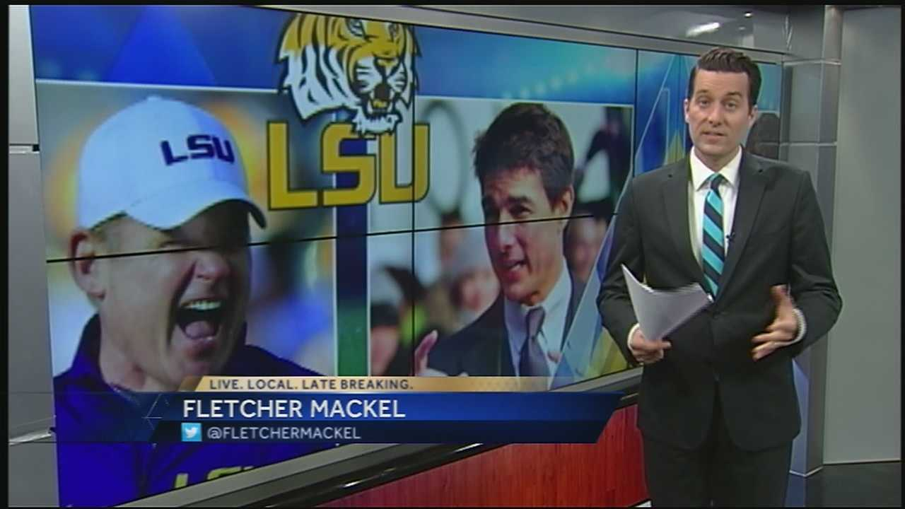 If you didn't know, Hollywood heavyweight Tom Cruise, who's in southeast Louisiana filming a movie, made his way Saturday to Tiger Stadium for a thrilling game between the LSU Tigers and the Florida Gators.