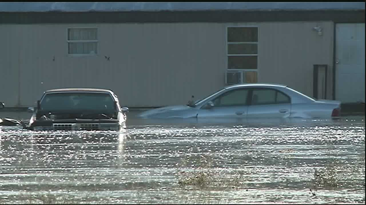 There was flooding, evacuations and people left without homes in Tangipahoa Parish on Monday.