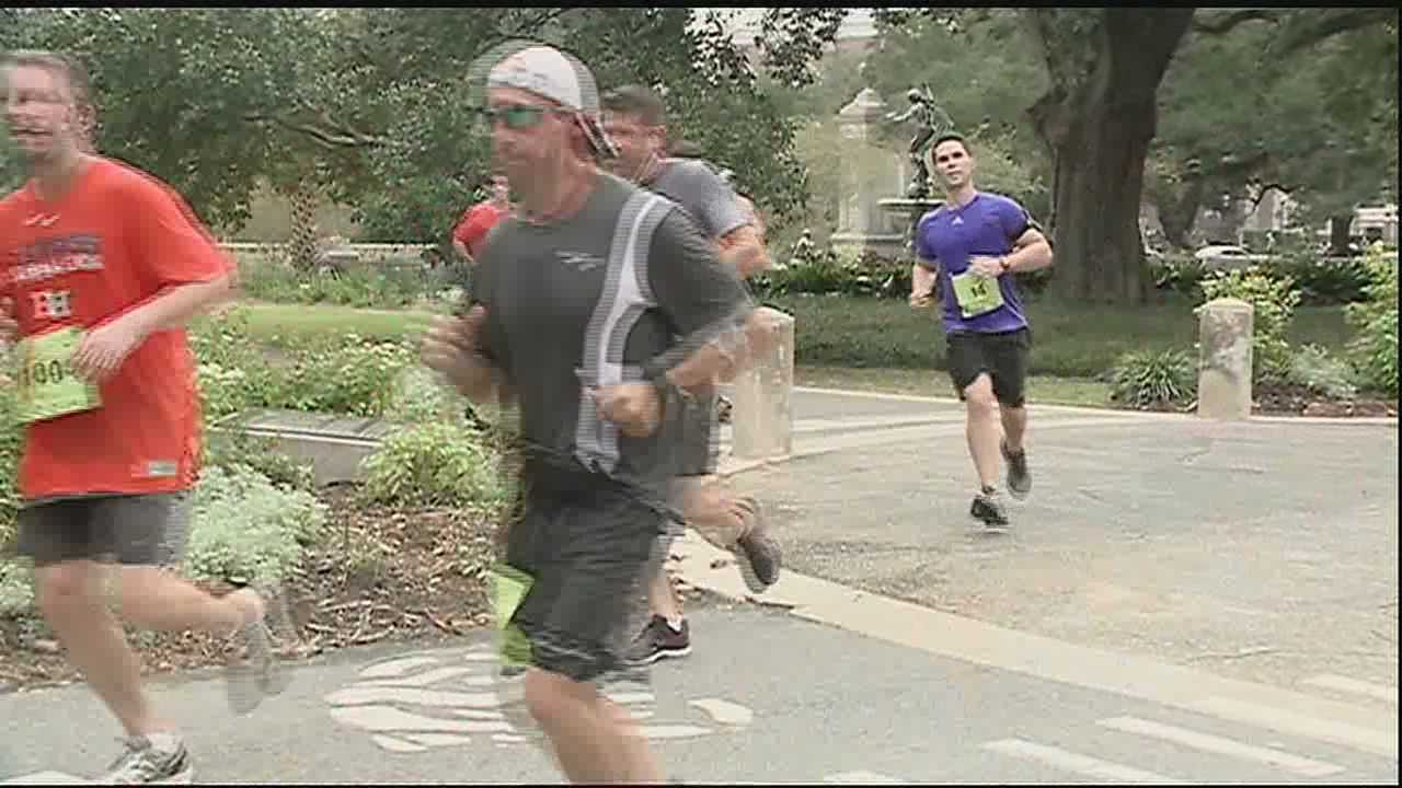 More than a quarter million dollars raised during an annual half marathon will go toward helping cancer patients in the New Orleans area.