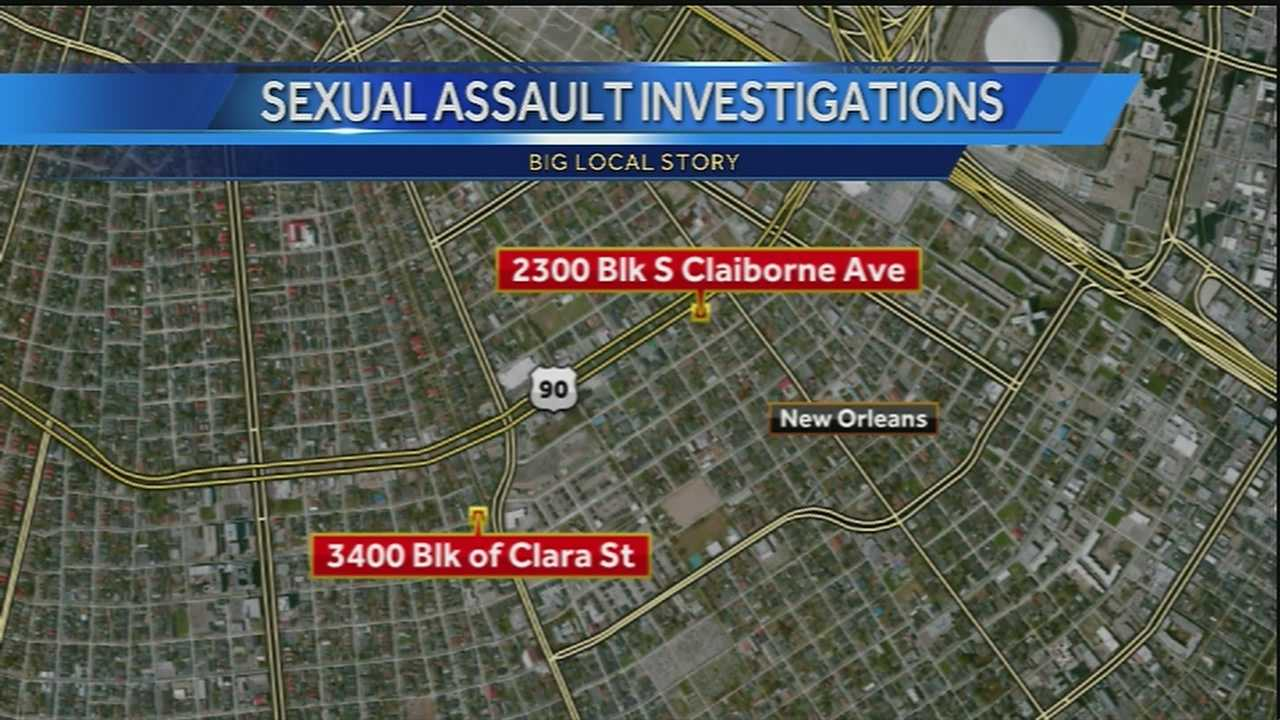 Two rapes reported Monday in Central City have residents in the neighborhood on edge.