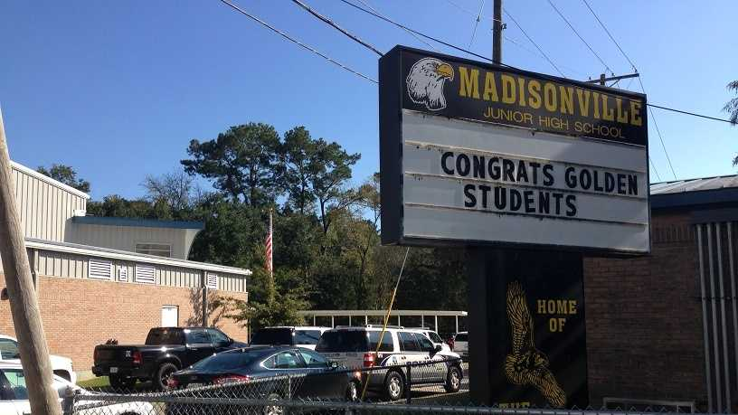 Madisonville Junior High School placed on lockdown over alleged threat, officials say.