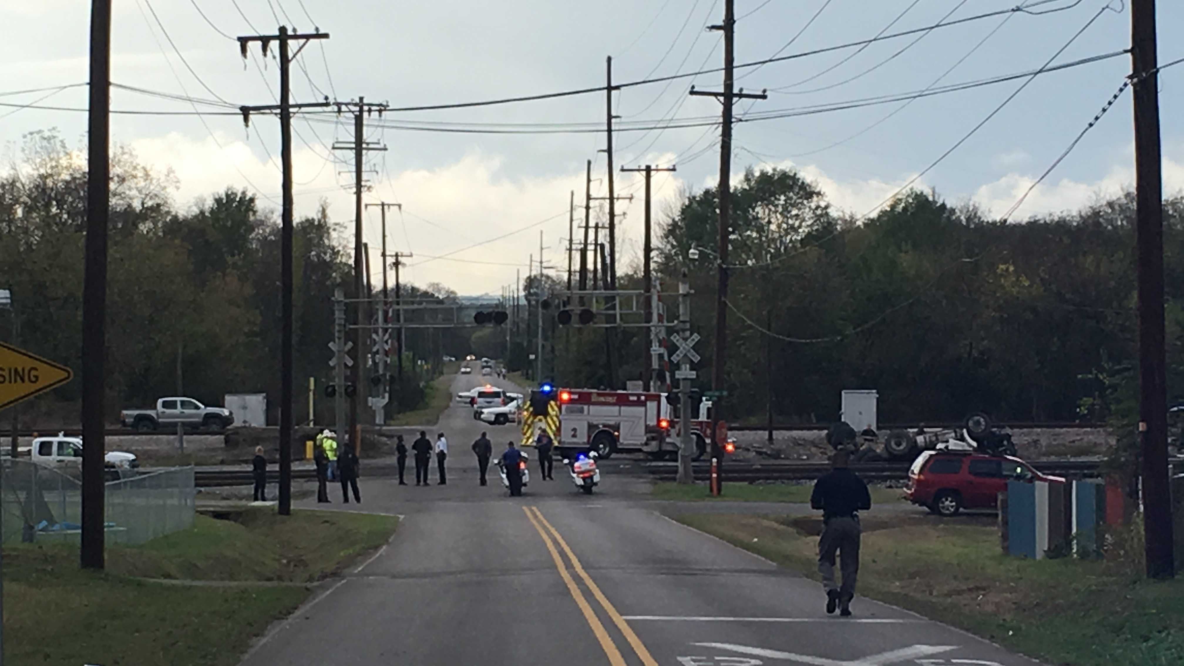 An Amtrak train crashed into a dump truck on Friday in Bessemer, Alabama -- 45 miles east of Tuscaloosa.