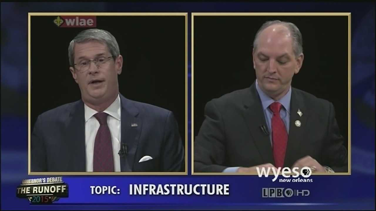 John Bel Edwards attacked David Vitter over his serious sin in final moments of debate
