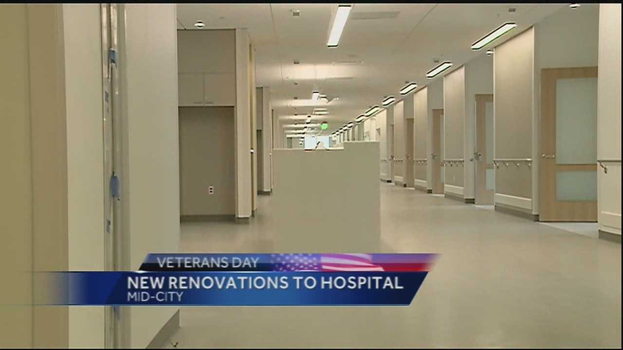 The Southeast Louisiana Veterans Health Care System invited WDSU on a tour of the construction site of the new SLVHCS medical center in Mid-City.