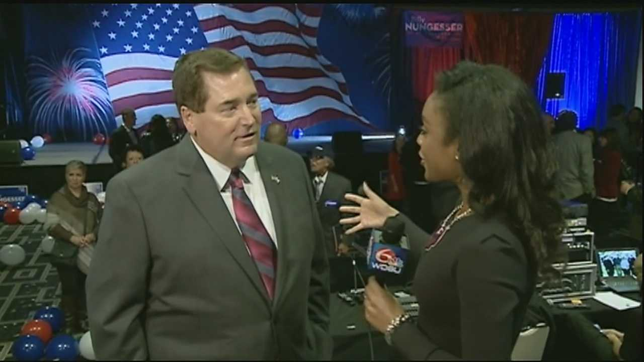 Republican Billy Nungesser will take over as Louisiana's lieutenant governor in January, after defeating Democrat Kip Holden in the runoff election.
