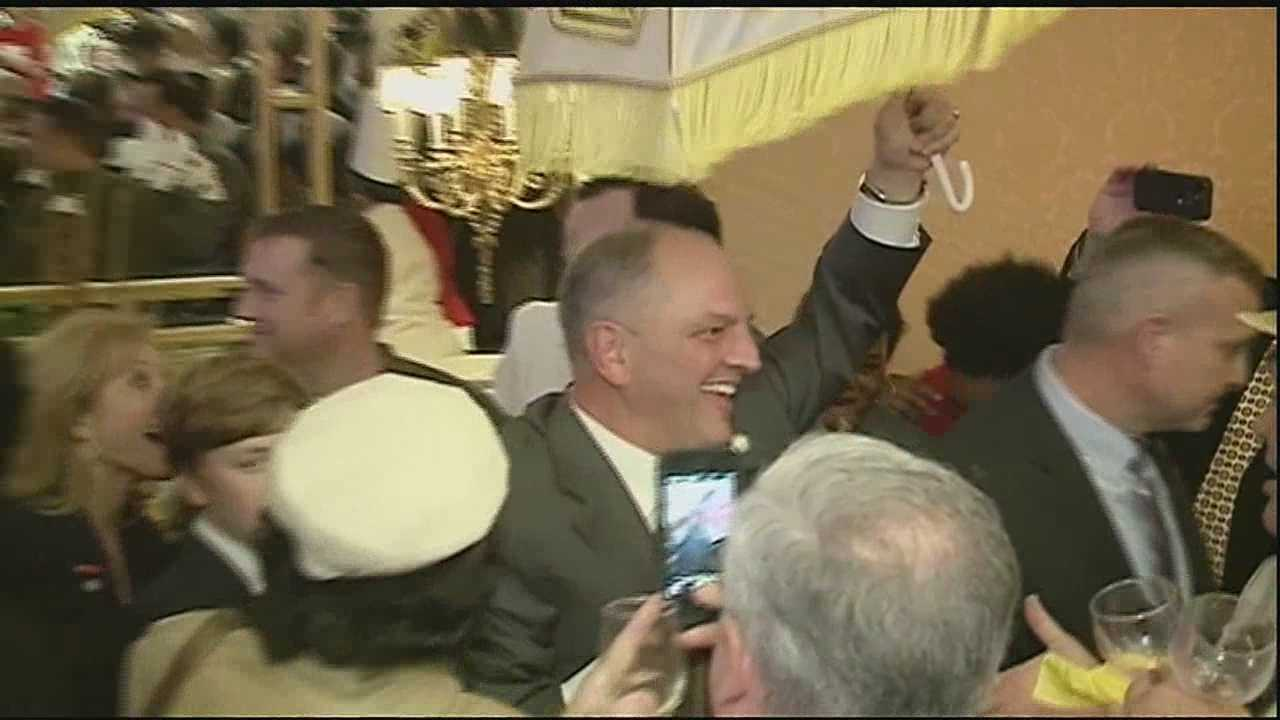 Democratic State Representative John Bel Edwards was elected to replace Governor Bobby Jindal