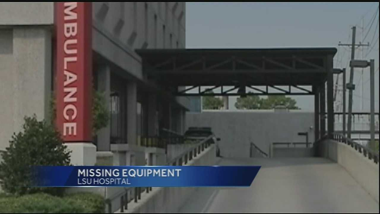 Nearly $6 million in state-owned hospital equipment can't be located, and millions more bought for the recently-opened New Orleans public hospital hasn't been tracked properly.