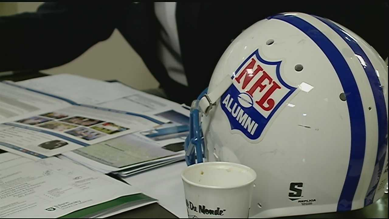 The annual event focuses on saving the lives of football stars from across the country. More than 50 retired NFL players participated in the NFL Player Care Foundation's Healthy Body and Mind Screening Program at the Tulane Institute of Sports Medicine.
