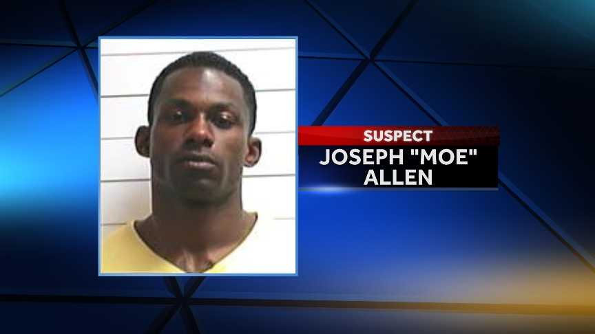 "Joseph ""Moe"" Allen, 32, was identified as a suspect on Nov. 27. He turned himself in to authorities the next day on 17 counts of attempted first-degree murder."