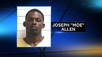 """Joseph """"Moe"""" Allen, 32, was identified as a suspect on Nov. 27. He turned himself in to authorities the next day on 17 counts of attempted first-degree murder. He was cleared of all the charges against him on Dec. 8."""