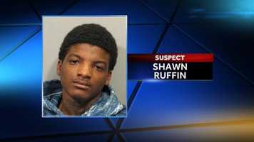 """Shawn """"Shooter"""" Ruffin was identified as a suspect Dec. 8. He is wanted on 17 counts of attempted first-degree murder."""