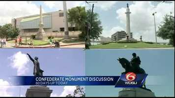Sept. 9, 2015: Sixty days pass since Landrieu declared a two-month long period of discussion about the future of the monuments. City officials give no indication about what's next in the removal process.