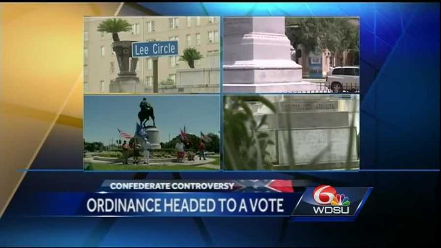 Dec. 1, 2015: City Council receives ordinance declaring monuments nuisances, clearing the way for a final decision regarding the fate of the statues.