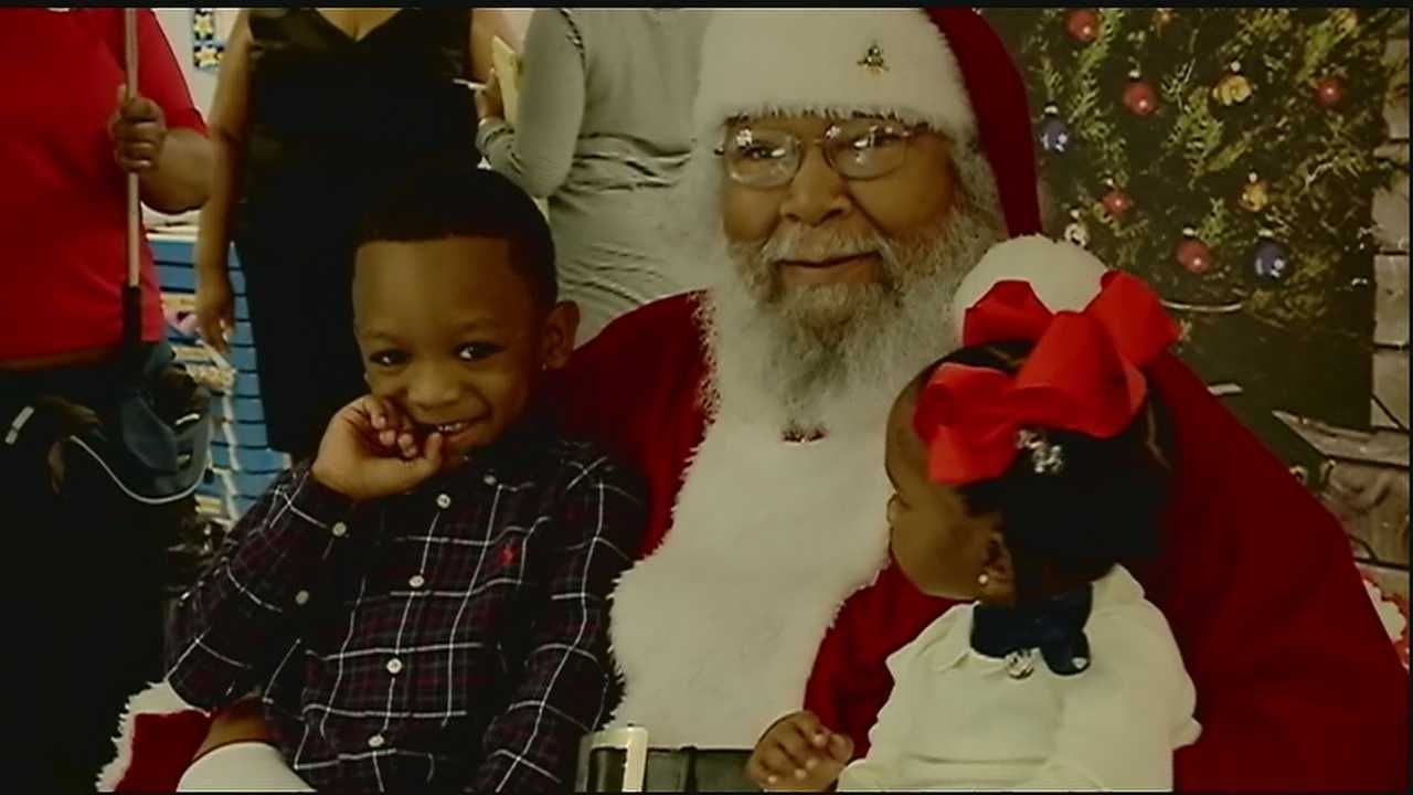 Fred Parker has been dressing up as the Seventh Ward Santa for 45 years and isn't stopping anytime soon.