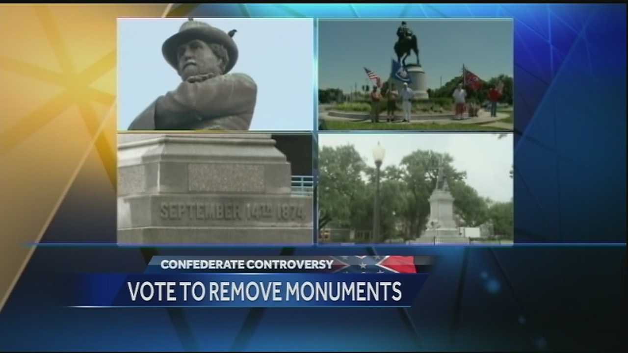Mayor Mitch Landrieu considers the monuments public nuisances and said they should be taken down.