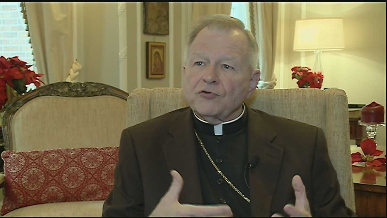 During a one-on-one interview, Archbishop Gregory Aymond spoke about the importance of Christmas and shared some of his favorite memories.