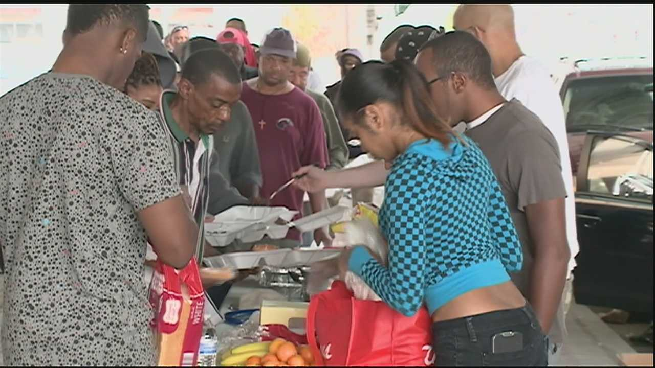 Every Saturday morning a group of young professionals gives back to the less fortunate.