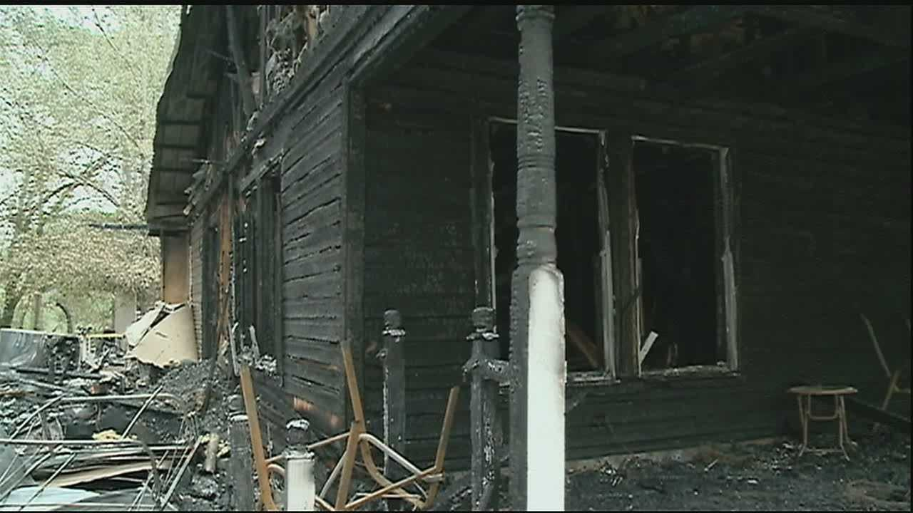 Two Northshore families are counting their blessings Christmas Day after separate fires overnight destroyed both families' homes.