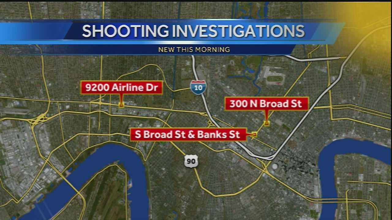 Police say four people were shot in separate incidents on Christmas day, one of the shootings turned deadly.