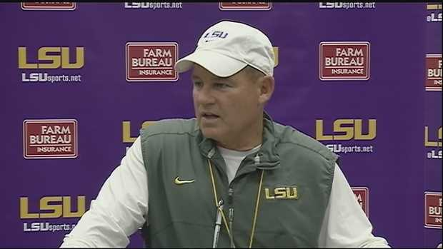 Over in Baton Rouge, much speculation surrounded the future of head coach Les Miles. For weeks, several news organizations reported he would be fired after this season. It wasn't until the Tiger's 19-7 win over Texas A&M in November that LSU confirmed Miles would remain head coach.