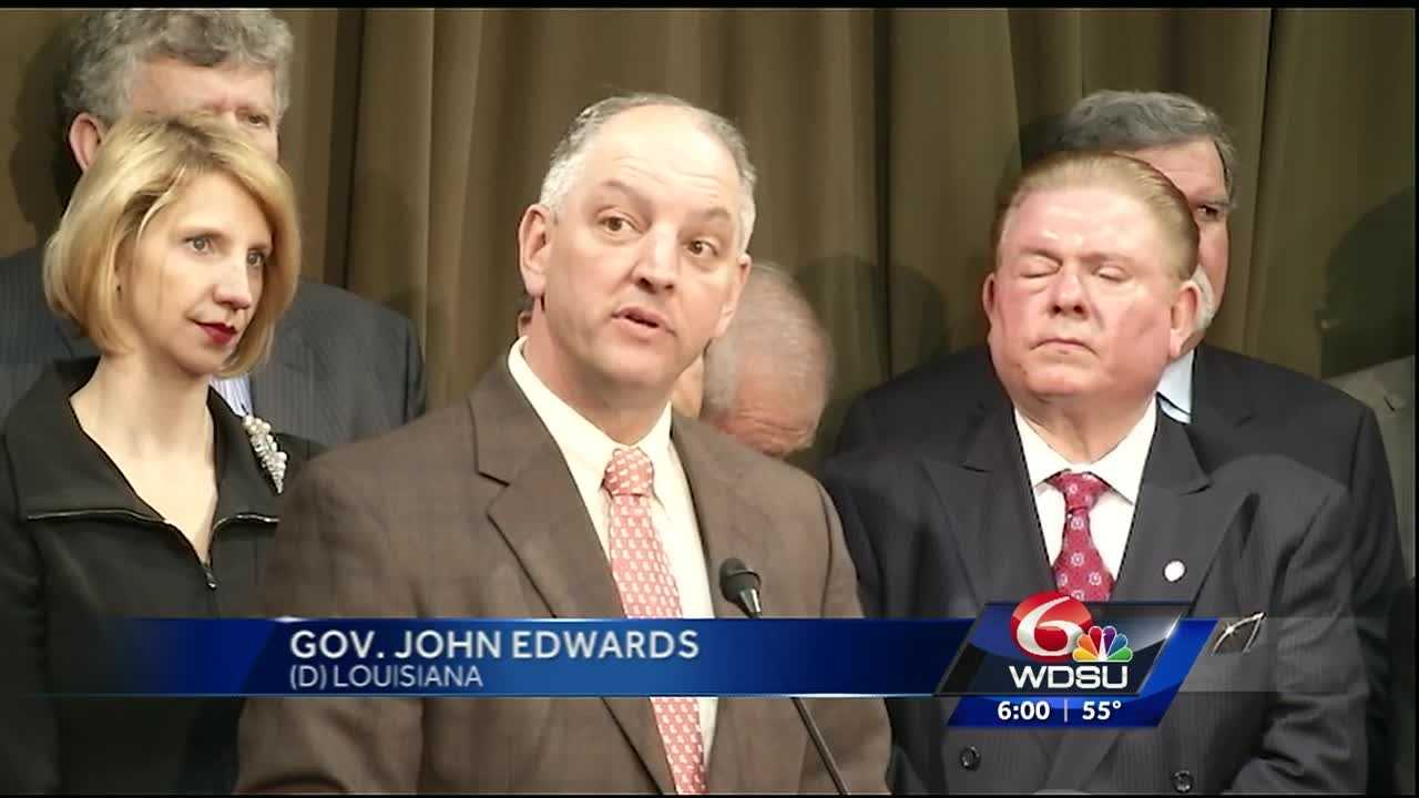 On his first day in office as Louisiana governor, John Bel Edwards signed Executive Order JBE 16-01 to begin accepting funds to expand Medicaid for working families in the state.