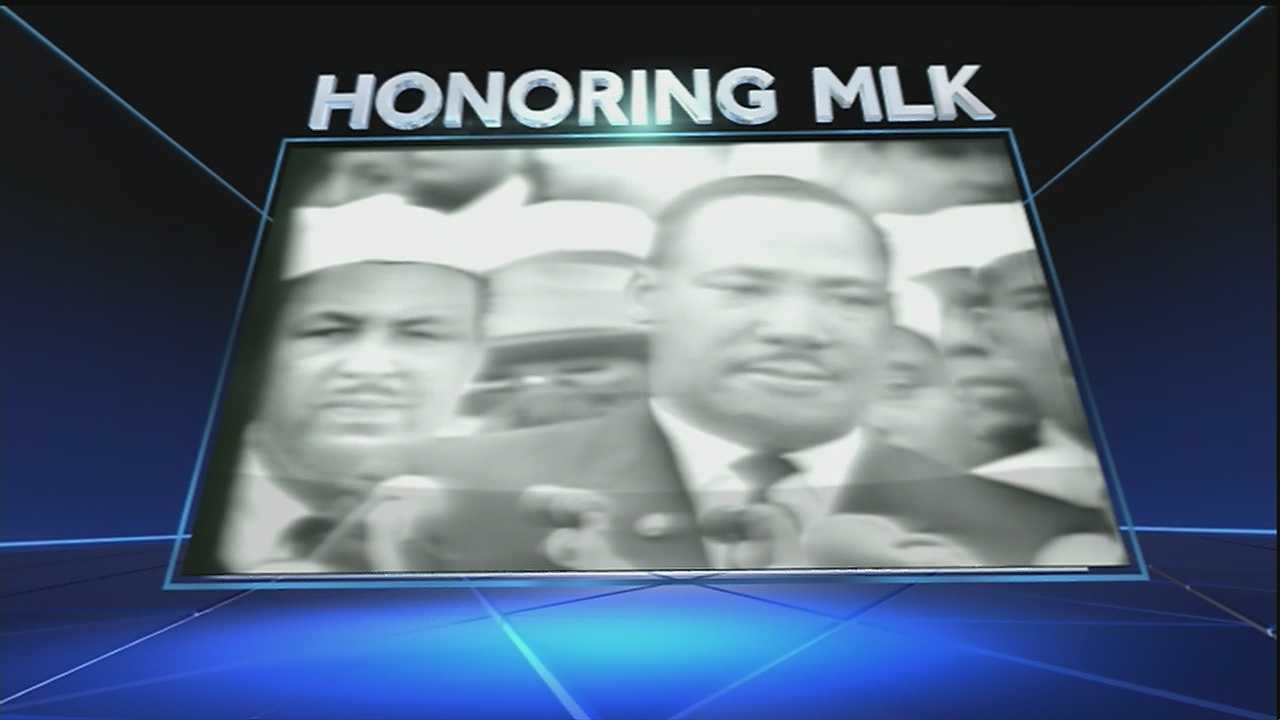 Dr. Martin Luther King's Birthday is Jan. 15, but today the holiday is being observed across the country.