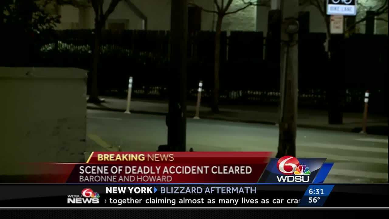 One man is dead after an early morning accident in the Central Business District.