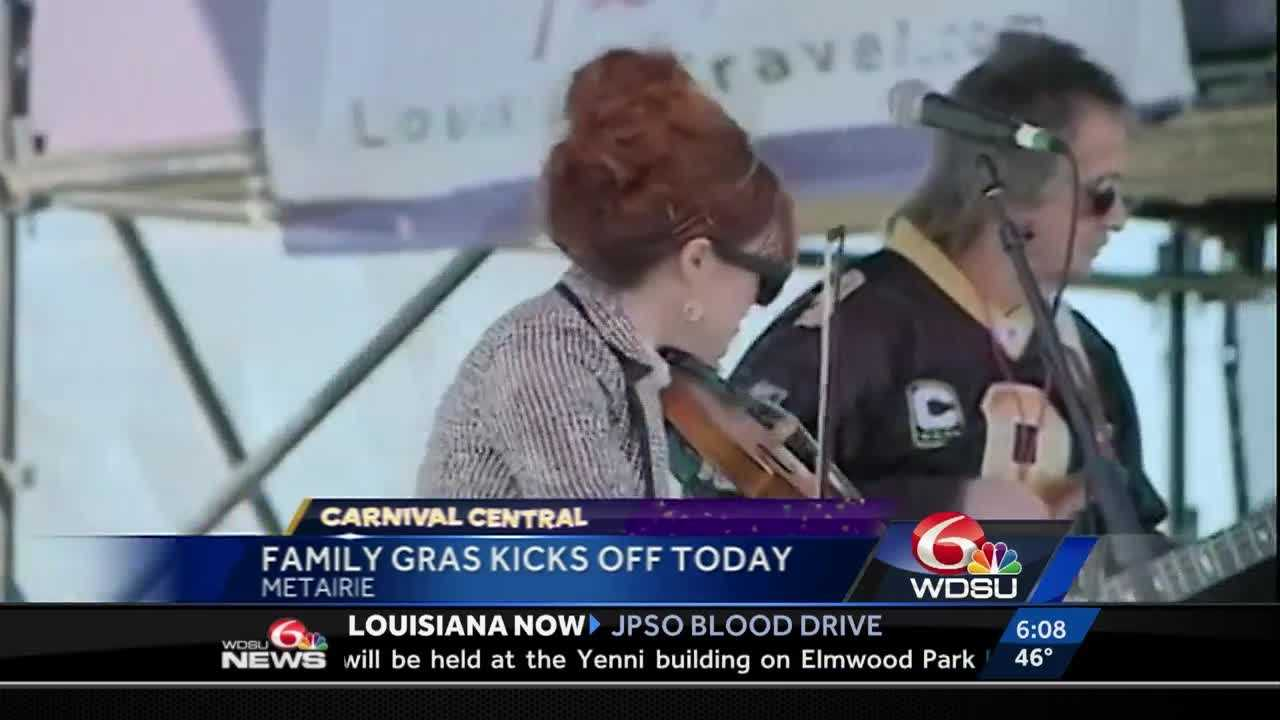 Family Gras takes place in Metairie near Lakeside Mall.