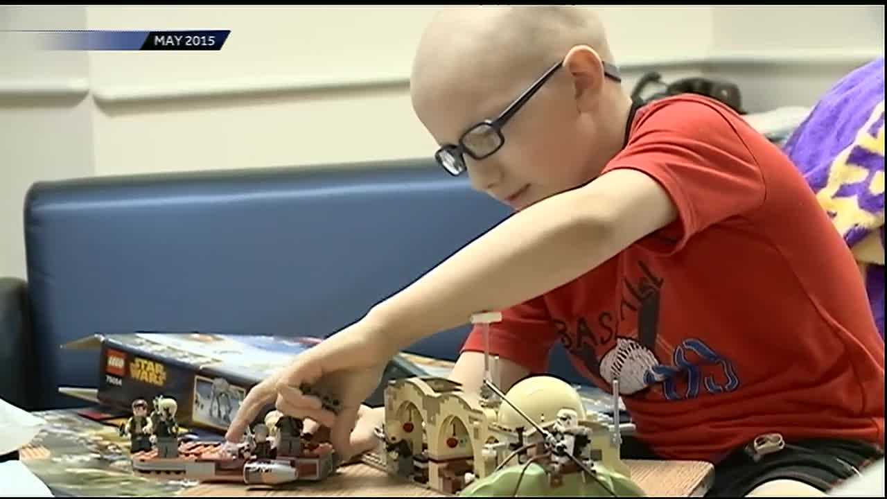 It's tough enough to beat cancer once, but 9 year old Chad Grosch did just that.  Diagnosed with AML Leukemia just before Christmas of 2014, Chad beat the odds and the disease and was in remission last spring.