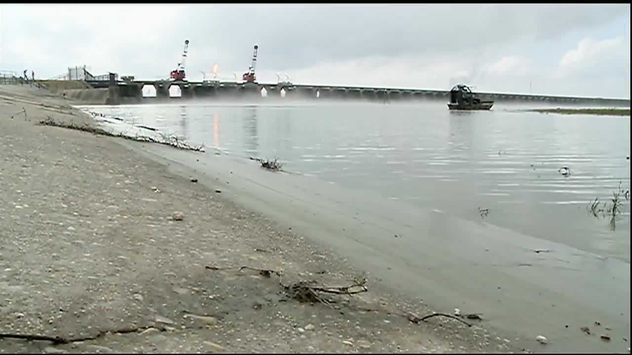 The U.S. Army Corps of Engineers closed the final 24 bays at the Bonnet Carre Spillway Monday afternoon.