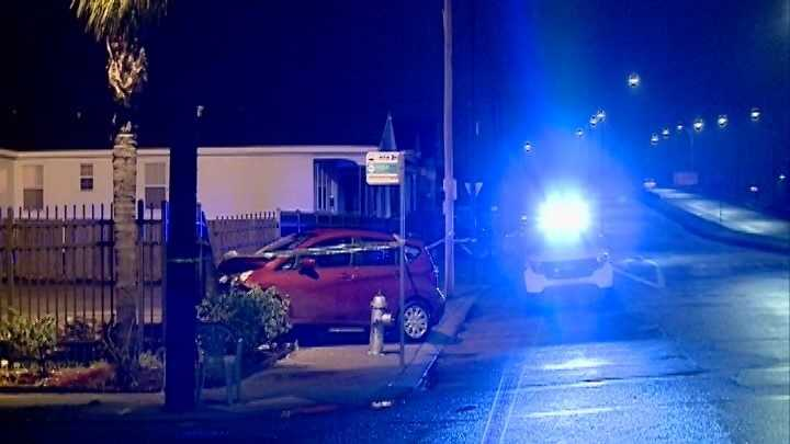 Near the intersection of North Dorgenois Street and Franklin Avenue in the St. Roch neighborhood about 2 a.m., a man was found suffering from a gunshot wound and a car was found crashed into a fence.