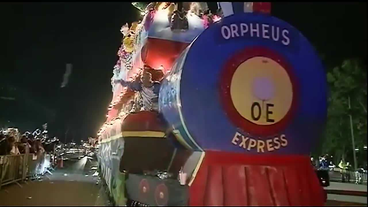 Folks on the Northshore are already lining the Mandeville parade route, psyched over the return of the Original Krewe of Orpheus parade. The all-male procession rolls tonight at 7 p.m. for the first time since 2012.