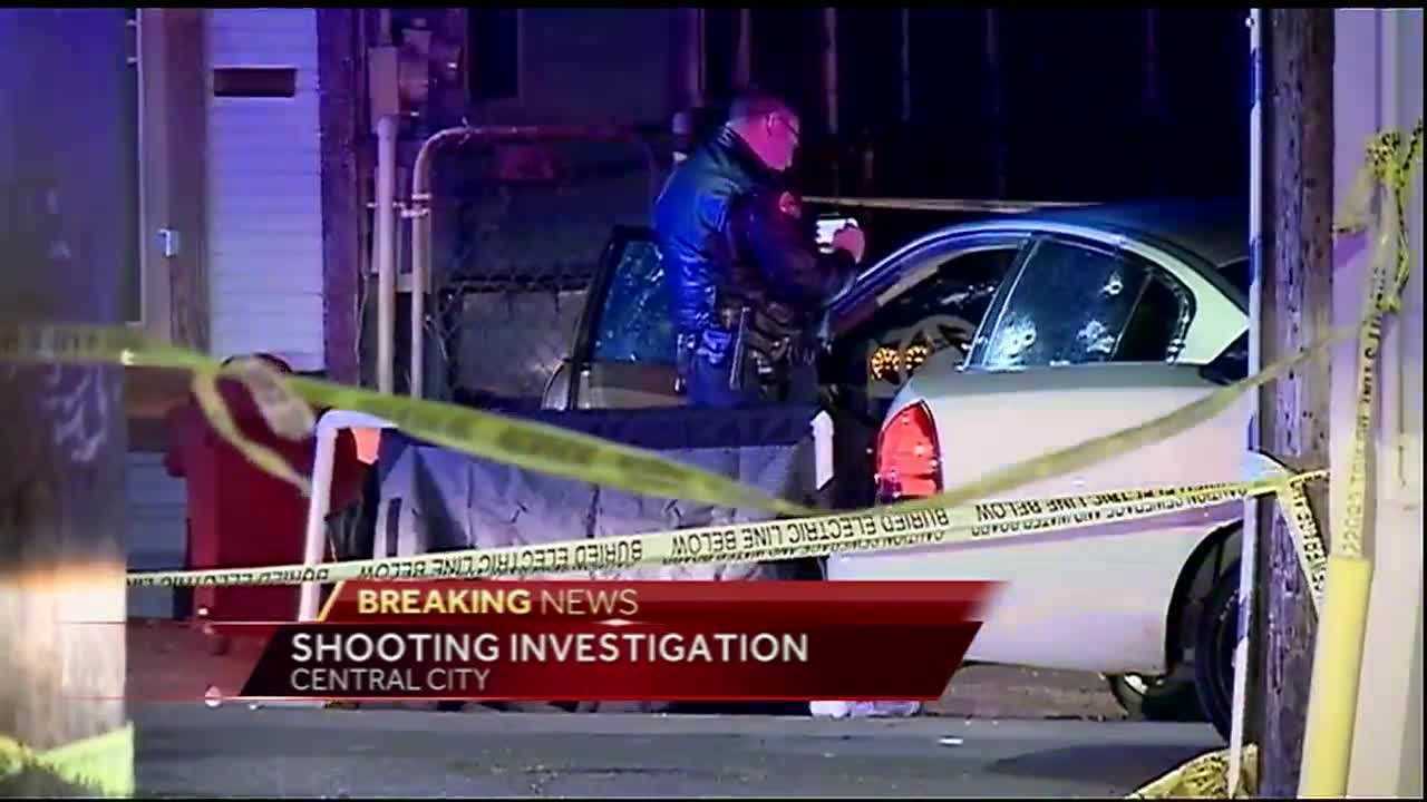 A man is dead and a woman is in the hospital after a deputy-involved shooting in Central City.