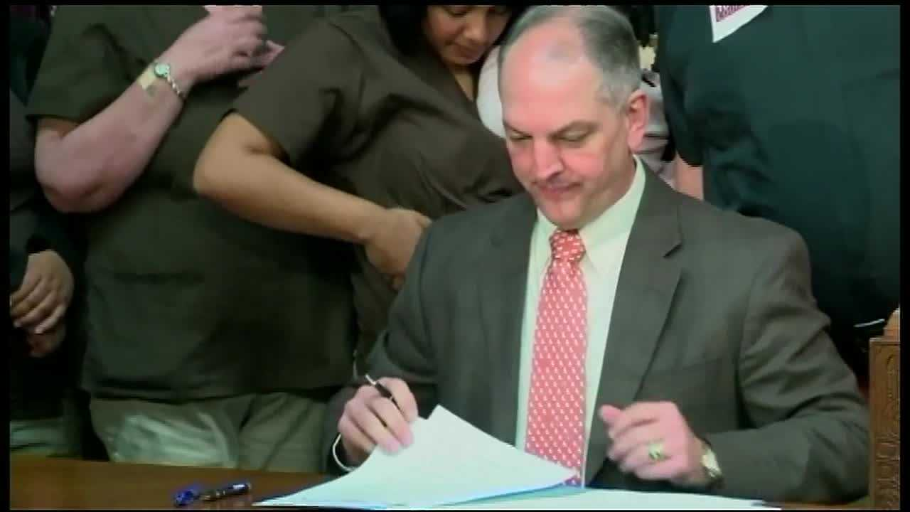 Gov. John Bel Edwards is taking his case for taxes directly to Louisiana's residents.