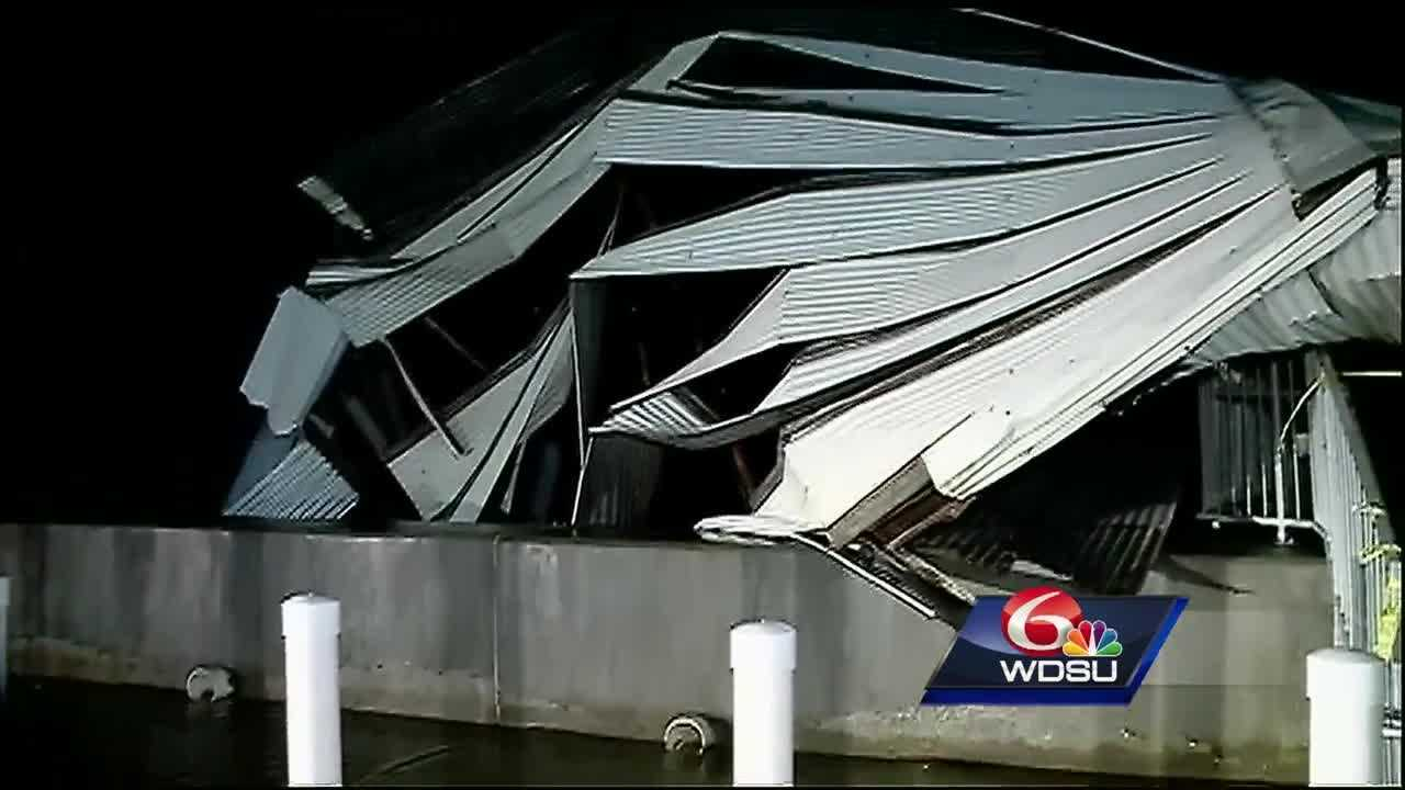 Victims of Tuesday's severe weather on the Northshore describe the experience of surviving the storm and show the damage wrought by the storms.