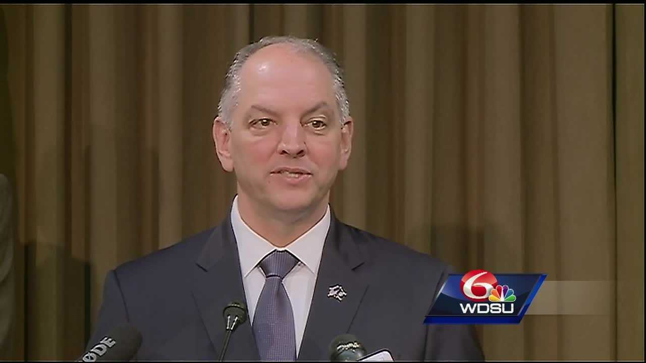 "Gov. John Bel Edwards says the Louisiana House's action to rebalance this year's budget hasn't ""come close to fixing the problem."""