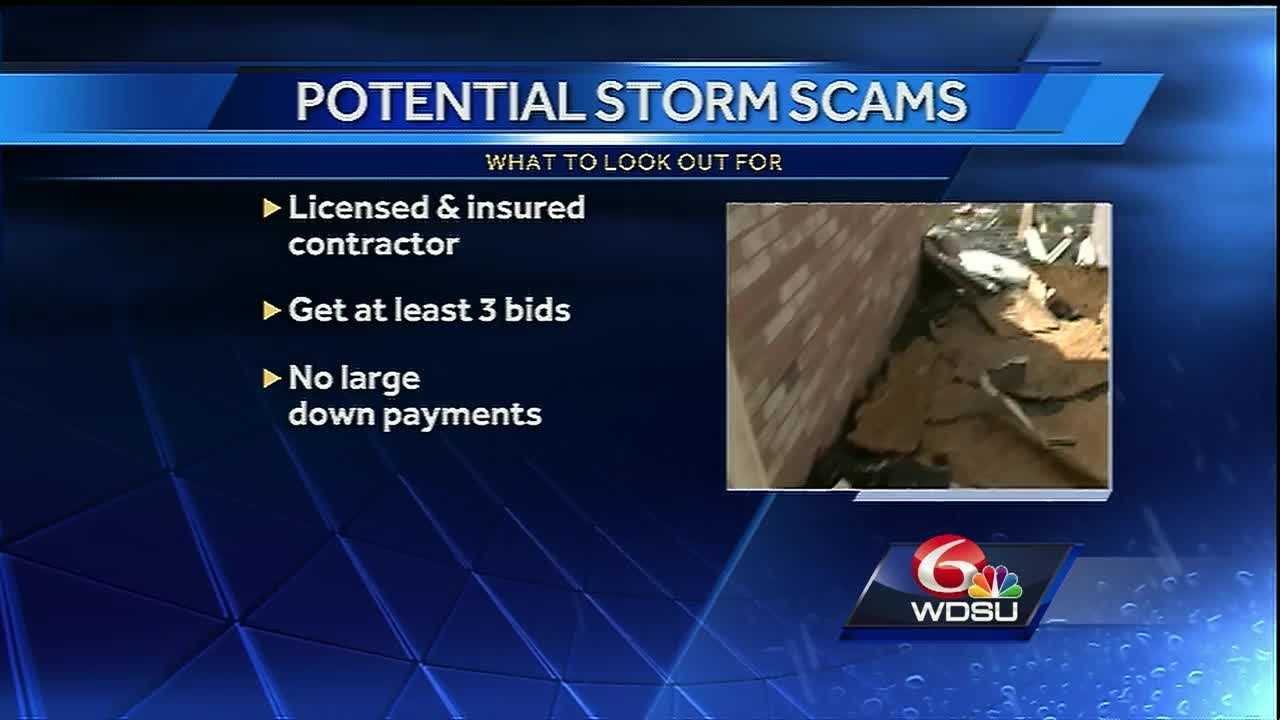Unfortunately, disaster attracts opportunists and scammers. Here are tips to protect yourself.